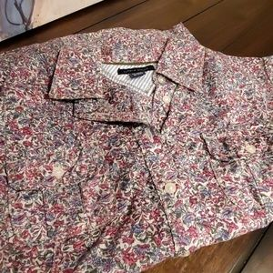 Tommy Hilfiger Fitted Camp Shirt